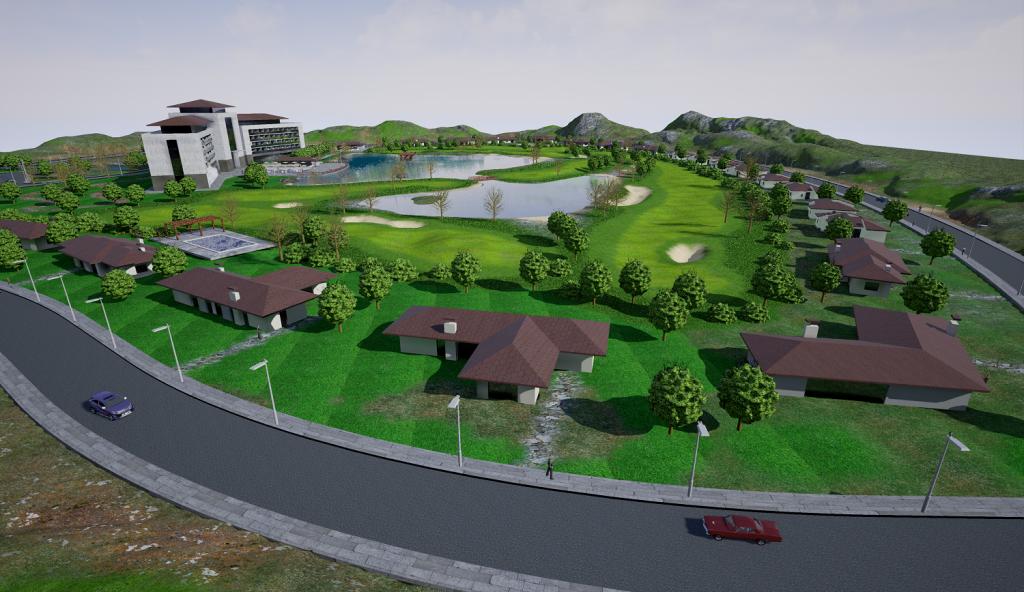 golf master plan